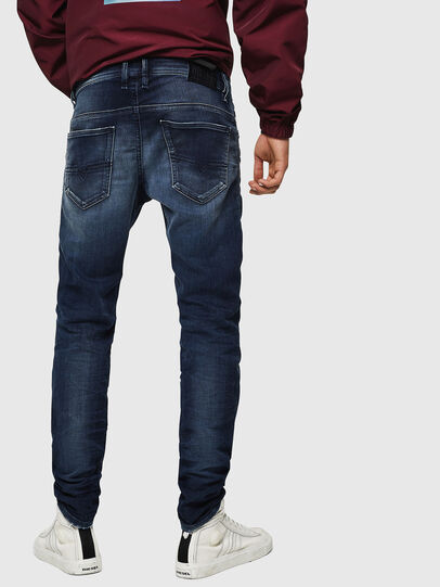 Diesel - Thommer JoggJeans 069JF, Azul Oscuro - Vaqueros - Image 2
