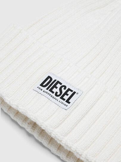 Diesel - K-CODER-E, Blanco - Gorros - Image 3