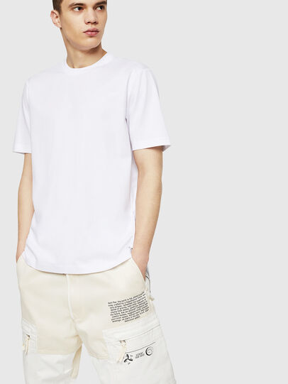 Diesel - T-KIRILL, Blanco - Camisetas - Image 3