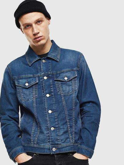 Diesel - NHILL JOGGJEANS, Blue Jeans - Chaquetas de denim - Image 1