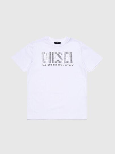 Diesel - TABEL, Blanco - Camisetas y Tops - Image 1