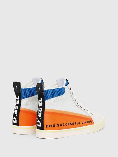 Diesel - S-DVELOWS MID, Blanco/Naranja - Sneakers - Image 3