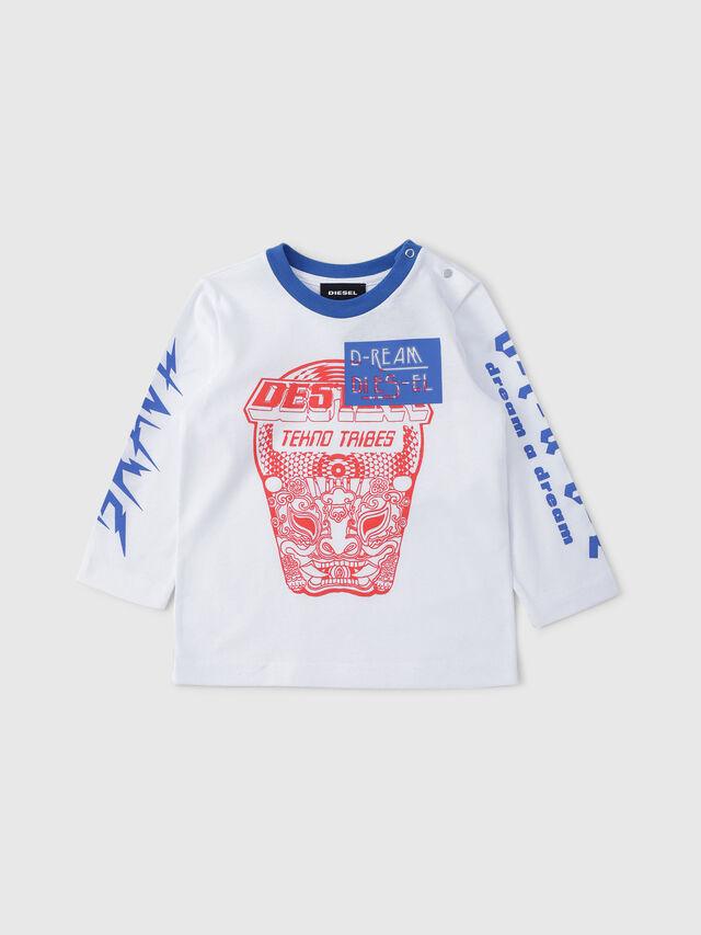 Diesel - TENNUB, Blanco/Rojo/Azul - Camisetas y Tops - Image 1