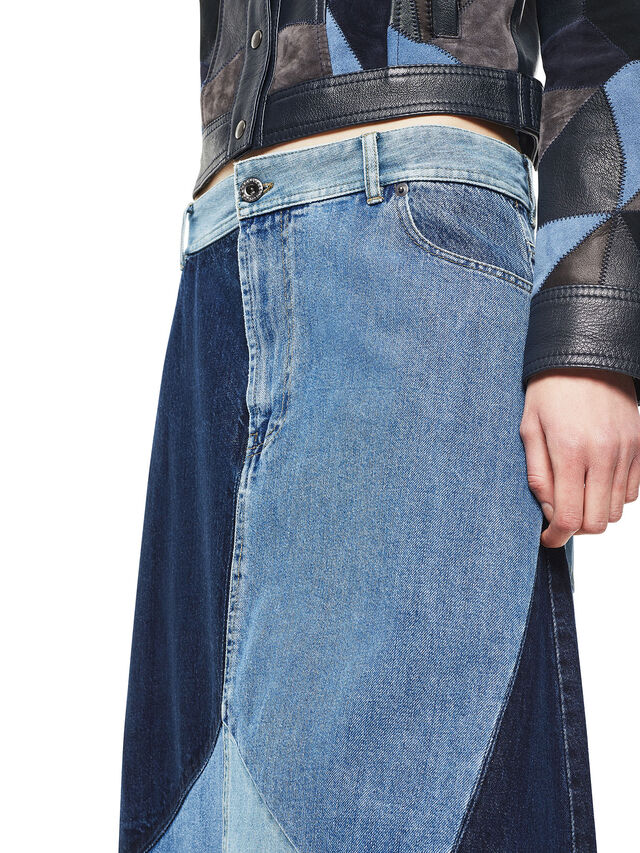 Diesel - ODETTE, Blue Jeans - Faldas - Image 4