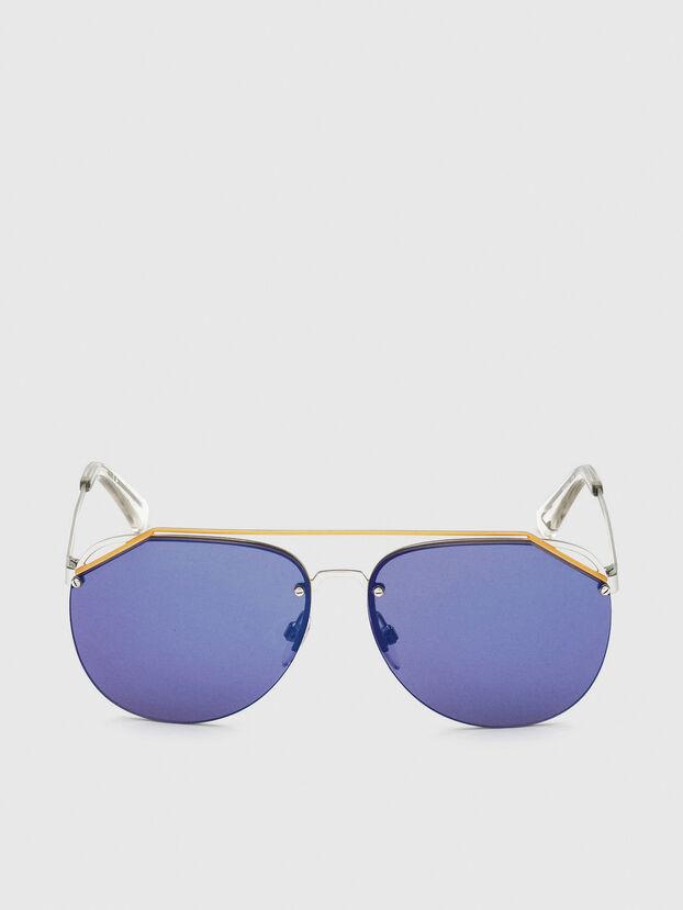 DL0314, Blanco/Azul - Gafas de sol