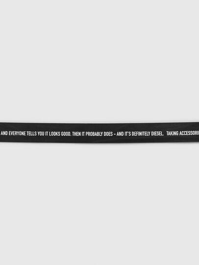 Diesel - B-CRESPINO, Negro - Cinturones - Image 3