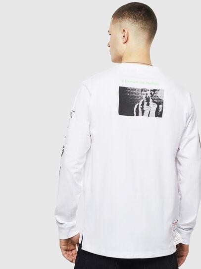 Diesel - T-JUSTLY, Blanco - Camisetas - Image 2