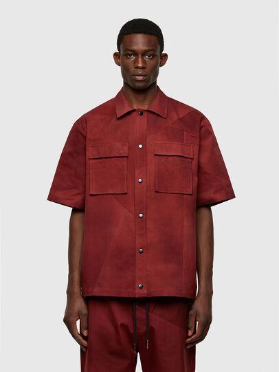 Diesel - S-GUNN-TIE, Rojo - Camisas - Image 1