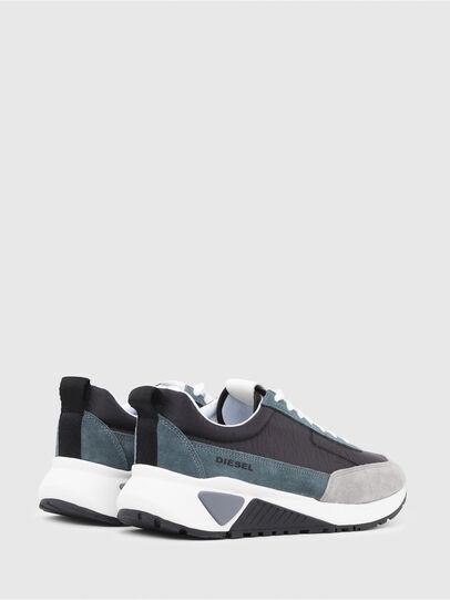 Diesel - S-KB LOW LACE, Gris/Azul - Sneakers - Image 3