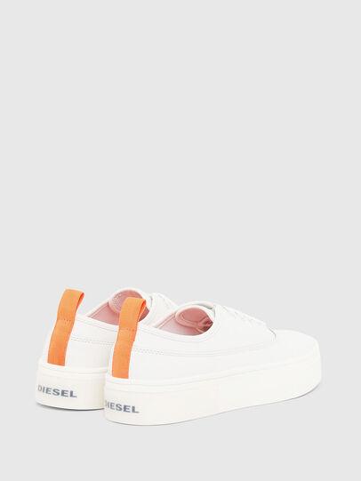 Diesel - S-VANEELA LOW, Blanco/Naranja - Sneakers - Image 3