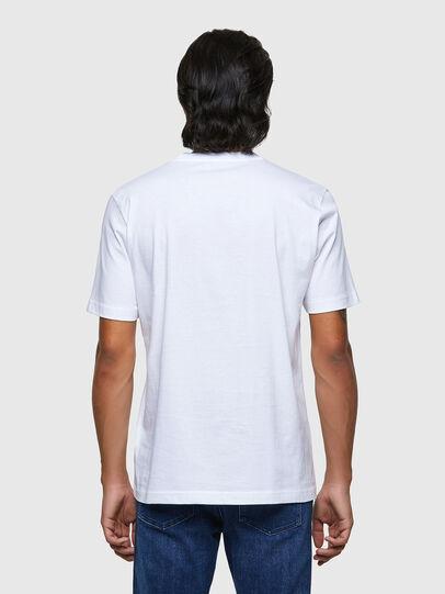 Diesel - T-JUST-B54, Blanco - Camisetas - Image 2