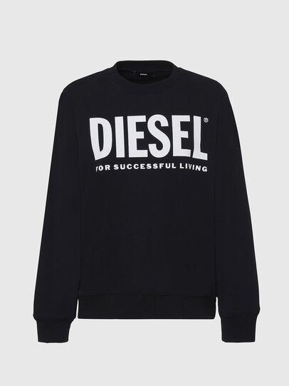 Diesel - F-ANG, Negro - Sudaderas - Image 1