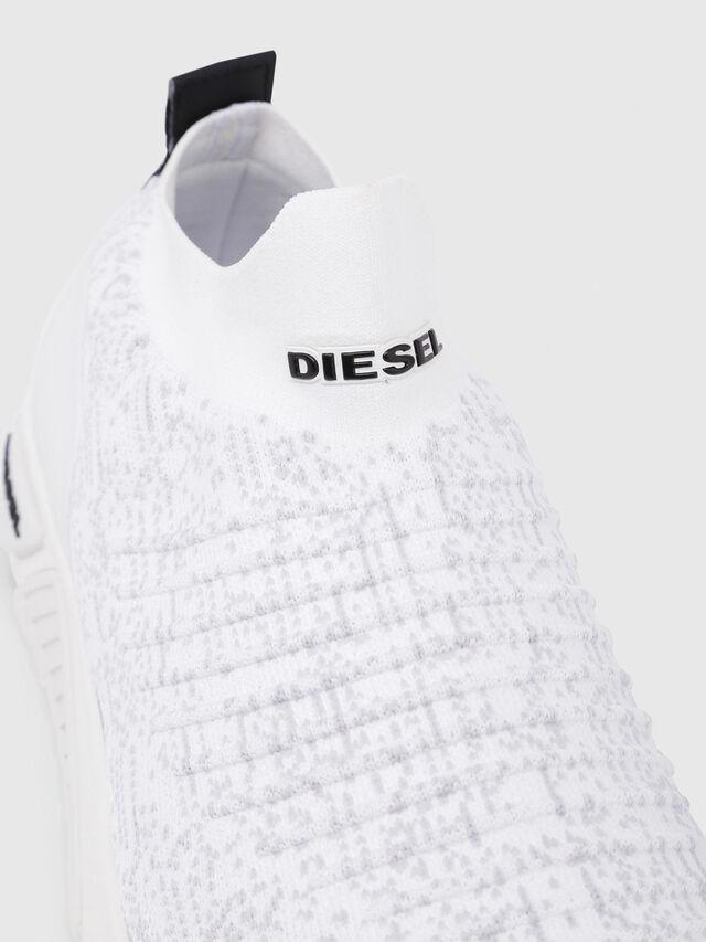 Diesel - S-KB ATHL SOCK, Blanco - Sneakers - Image 5