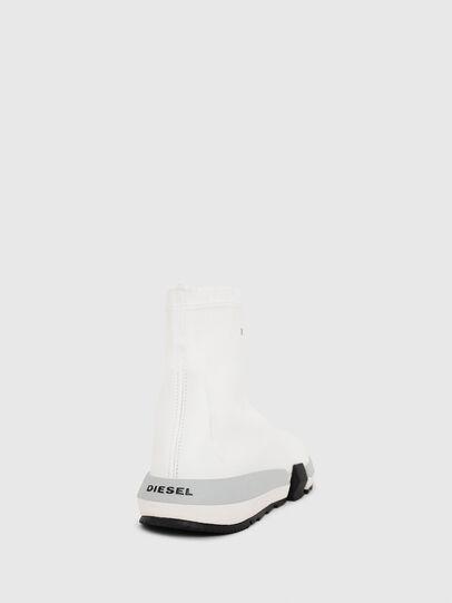 Diesel - H-PADOLA HIGH SOCK W, Blanco - Zapatillas - Image 4