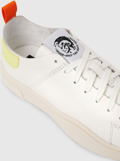 Diesel - S-CLEVER LS W, Blanco/Amarillo - Sneakers - Image 4