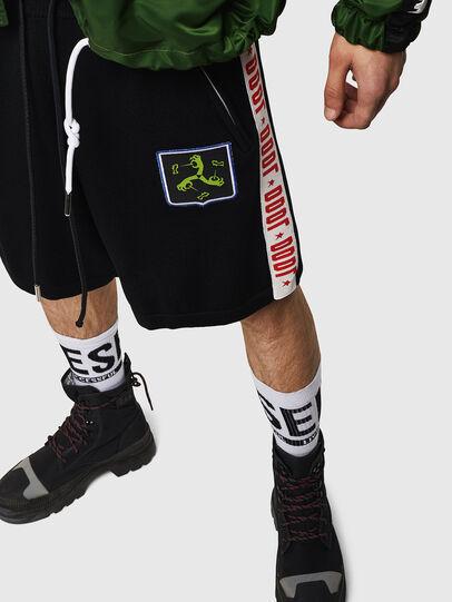 Diesel - K-ROB, Negro - Shorts - Image 4
