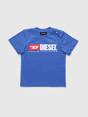 TJUSTDIVISIONB, Cerúleo - Camisetas y Tops