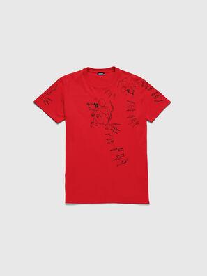 CL-T-DIEGO-3, Rojo - Camisetas