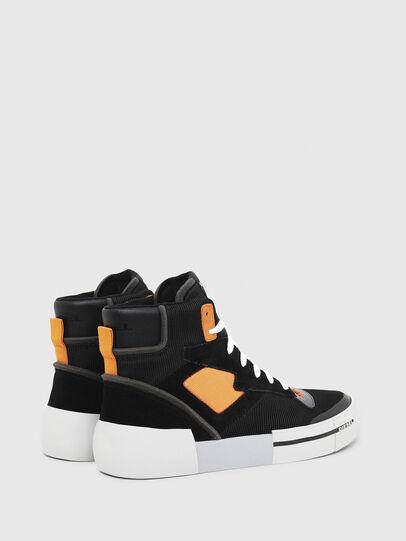 Diesel - S-DESE MS, Negro/Naranja - Sneakers - Image 3