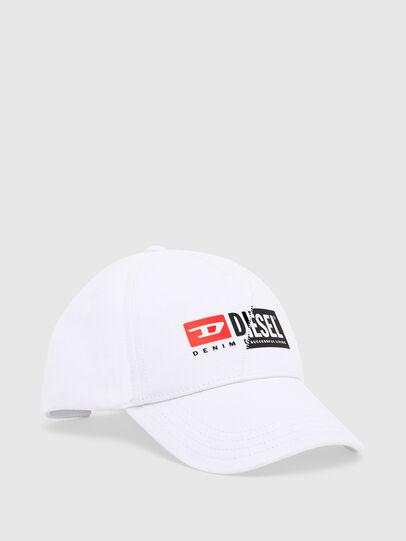 Diesel - CAP-CUTY, Blanco - Gorras - Image 1