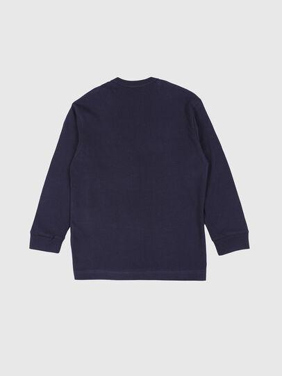 Diesel - TEDRI OVER, Azul Marino - Camisetas y Tops - Image 2