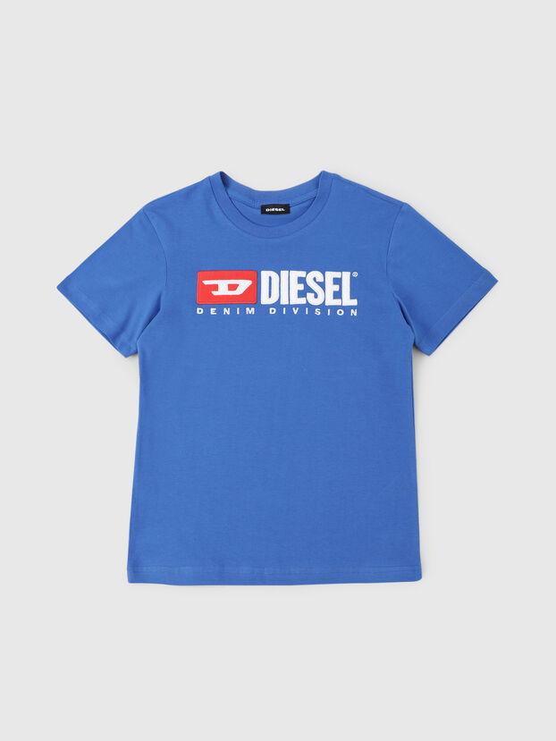 TJUSTDIVISION, Cerúleo - Camisetas y Tops