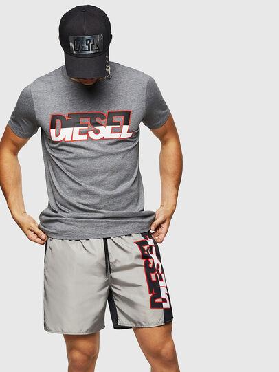 Diesel - BMBX-WAVENEW, Gris - Bañadores boxers - Image 4
