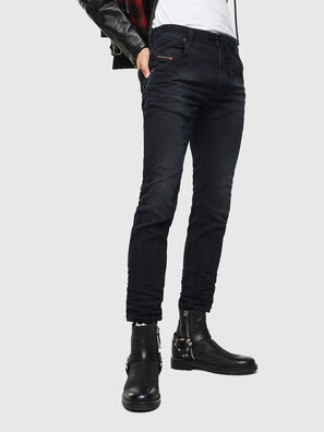 Krooley JoggJeans 069KJ, Negro/Gris oscuro - Vaqueros