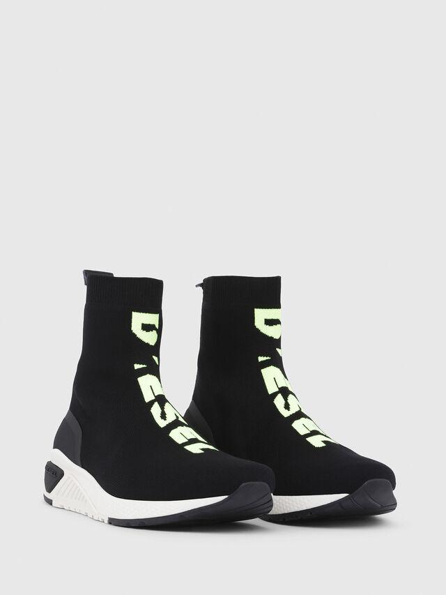 Diesel - S-KB MID ATHL SOCK, Negro - Sneakers - Image 2