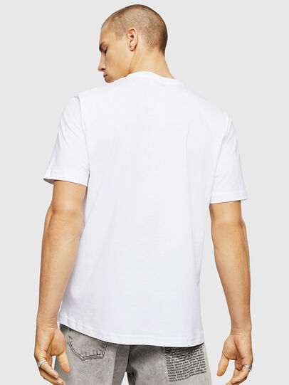 Diesel - T-JUST-A5, Blanco - Camisetas - Image 2