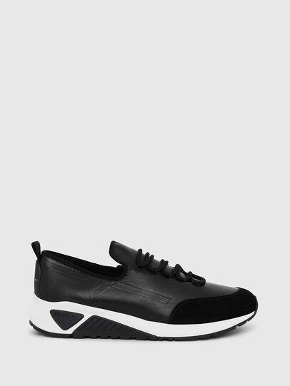 Diesel - S-KBY, Piel Negra - Sneakers - Image 1