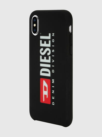 Diesel - DIESEL PRINTED CO-MOLD CASE FOR IPHONE XS & IPHONE X, Negro/Blanco - Fundas - Image 5