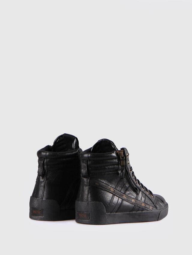 Diesel - D-STRING PLUS, Negro - Sneakers - Image 3