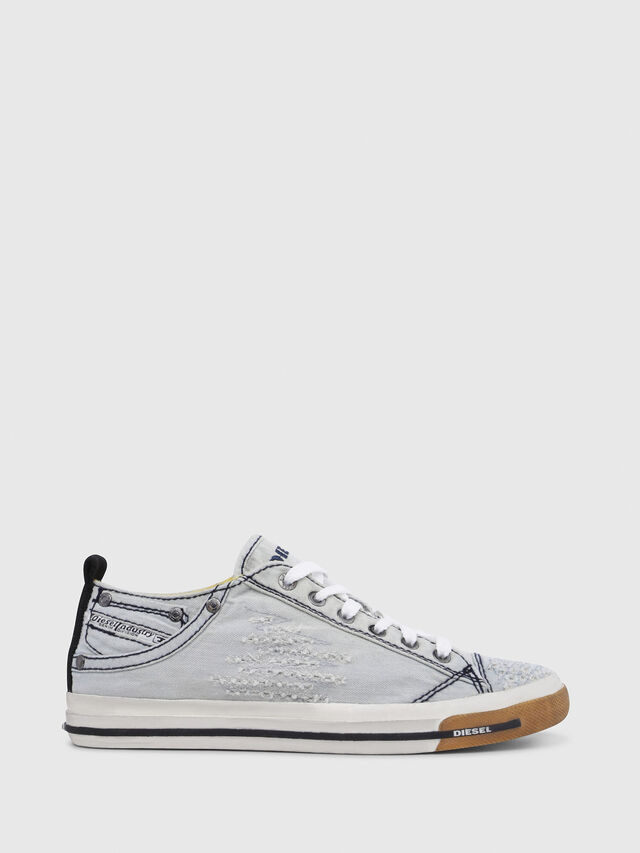 Diesel - EXPOSURE IV LOW  W, Azul Claro - Sneakers - Image 1
