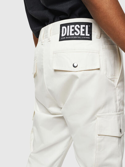 Diesel - P-JARED-CARGO, Blanco - Pantalones - Image 3