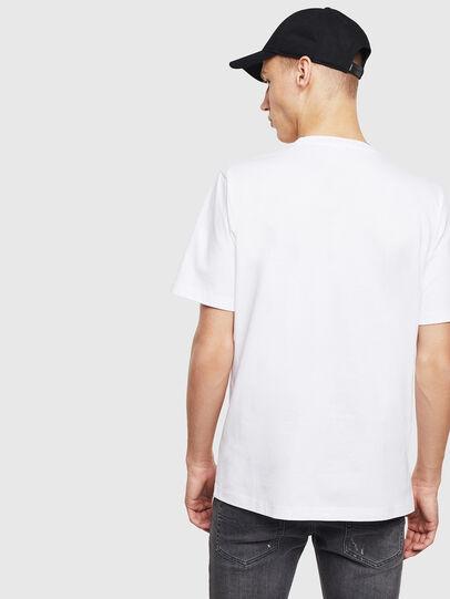 Diesel - T-JUST-T23, Blanco - Camisetas - Image 4