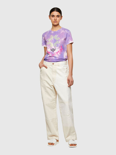 Diesel - T-SILY-A12, Lila - Camisetas - Image 5