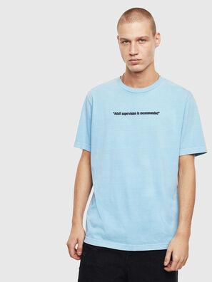 T-JUST-NEON, Celeste - Camisetas