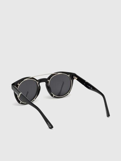 Diesel - DL0251, Negro Brillante - Gafas de sol - Image 2