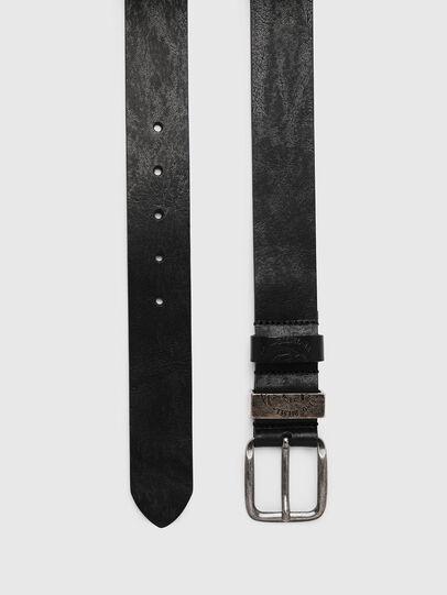 Diesel - B-FRAG, Piel Negra - Cinturones - Image 3