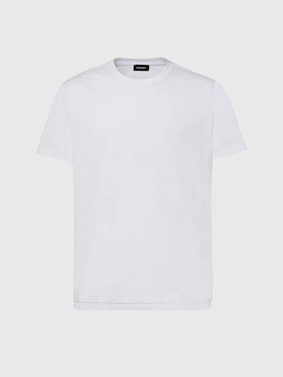 Diesel - T-DIAMANTIK-NEW2, Blanco - Camisetas - Image 1
