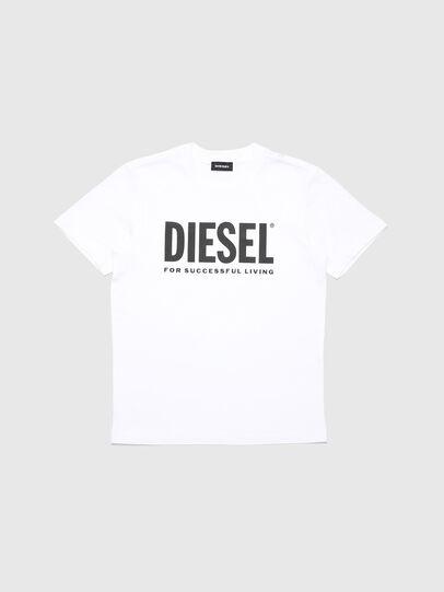 Diesel - TJUSTLOGO, Blanco - Camisetas y Tops - Image 1