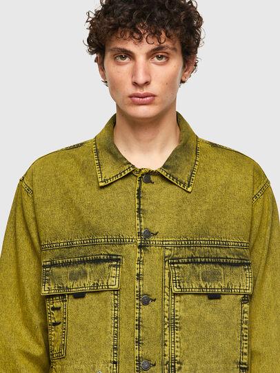 Diesel - D-FITZ-SP, Amarillo - Camisas de Denim - Image 3