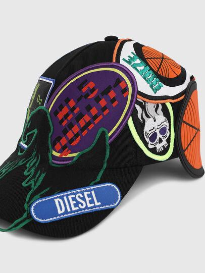 Diesel - CEPAT, Multicolor/Negro - Gorras - Image 3