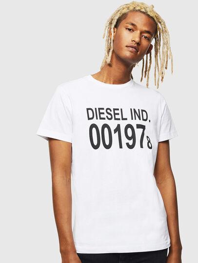 Diesel - T-DIEGO-001978, Blanco - Camisetas - Image 1