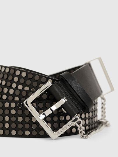 Diesel - B-STAD, Negro - Cinturones - Image 2