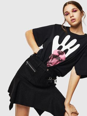 T-JUSTINA, Negro - Camisetas