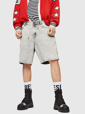 D-WILLOH, Gris Claro - Shorts