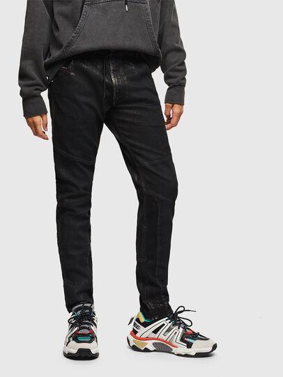 Diesel - D-Luhic JoggJeans 0092W, Negro/Gris oscuro - Vaqueros - Image 1