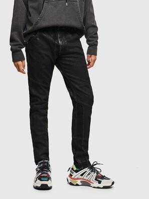 D-Luhic JoggJeans 0092W, Negro/Gris oscuro - Vaqueros